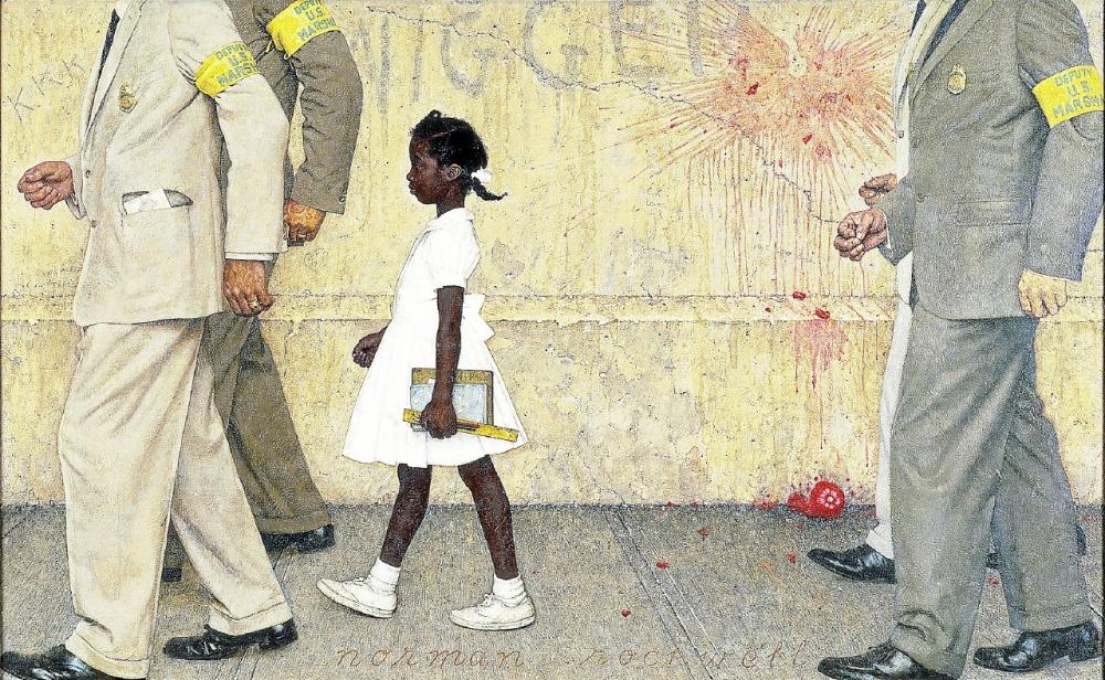Norman Rockwell Peintre Engage De L Histoire De L Amerique La Gazette D Hector La Gazette D Hector